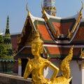 Wat Phra Kaew, Bangkok (Thailand) Royalty Free Stock Photo