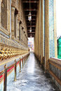 Wat Phra Kaew Grand palace in Bangkok Stock Photos