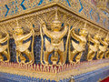 Wat phra kaew the grand palace of thailand bangkok july garuda in Stock Photography