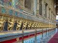 Wat phra kaew the grand palace of thailand bangkok july garuda in Royalty Free Stock Photo