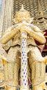 Wat phra kaew is a landmark of the thailand Stock Photos