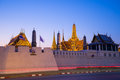 Wat phra kaew the is regarded as the most sacred buddhist temple in thailand it is a potent religio political symbol and the Stock Photography