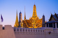 Wat phra kaew the is regarded as the most sacred buddhist temple in thailand it is a potent religio political symbol and the Stock Photo