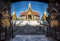 Wat Phra Kaew Royal Palace in Bangkok, Thailand Royalty Free Stock Photo