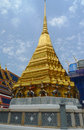 Wat phra kaew or temple of the emerald buddha in grand palace in bangkok thailand april on april is Stock Photography