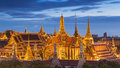 Wat Phra Kaew, Temple of the Emerald Buddha Royalty Free Stock Photo
