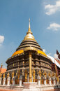 Wat Phra That Lampang Luang Stock Image