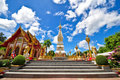 Wat Phra That Phanom of Thailand Stock Image