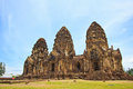 Wat phra si rattana mahathat thailand ancient structure at in lopburi province of Stock Photo
