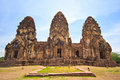 Wat phra si rattana mahathat thailand ancient structure at in lopburi province of Stock Photos