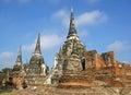 Wat phra si sanphet ayutthaya thailand southeast asia Stock Photography