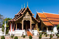 Wat Phra Singh, Chiang Mai, Thailand Royalty Free Stock Photo