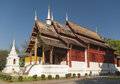 Wat phra singh in chiang mai thailand Royalty Free Stock Photos