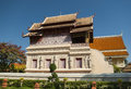Wat phra singh in chiang mai thailand Royalty Free Stock Images
