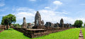 Wat phra sri mahathat behind of lopburi Stock Image