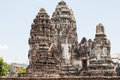 Wat phra sri rattana mahathat ancient ruins lop buri in thailand Royalty Free Stock Images