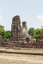 Wat phra sri rattana mahathat ancient ruins lop buri in thailand Stock Photos