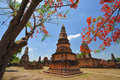 Wat phra sri rattana mahathat historical park in lopburi Royalty Free Stock Photos