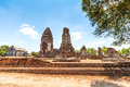 Wat phra sri rattana mahathat historical park in lopburi thailand Stock Photo