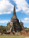 Wat phra sri sanphet ancient temle in ayutthaya Stock Photos