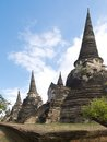 Wat phra sri sanphet ancient temle in ayutthaya Stock Photo