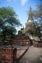 Wat Phra Sri Sanphet of  Ayutthaya3 Royalty Free Stock Photo