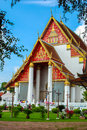 Wat phra sri sanphet is situated on the city island in ayutthaya's Stock Images