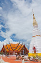 Wat phra trad choeng chum thailand in sakonnakorn province northeastern of Royalty Free Stock Photo