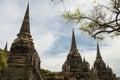 Wat Phrasisanpetch in Ayutthaya Historical Park