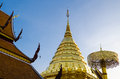 Wat Phrathat Doi Suthep at Chiangmai, Thailand. Royalty Free Stock Photo