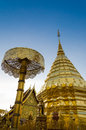 Wat Phrathat Doi Suthep at Chiangmai, Thailand. Royalty Free Stock Photo