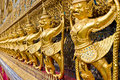 Wat Pra Kaew, Bangkok, Thailand Royalty Free Stock Photography