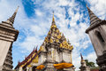 Wat pratat chaiya, Surat-thani Royalty Free Stock Photography