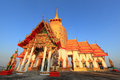 Wat prong arkard chachoengsao province Stock Photo