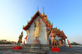 Wat prong arkard chachoengsao province Royalty Free Stock Photo