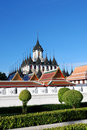 Wat Rachanutda, Bangkok Stock Photo