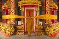 Wat Rat Upatham Wat Bang Riang Temple and monk