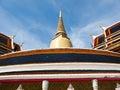 Wat Ratchabophit in Bangkok , Thailand Royalty Free Stock Photo