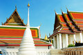 Wat ratchanatdaram temple in Bangkok Royalty Free Stock Image