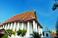 Wat ratchanatdaram temple in Bangkok Stock Photography