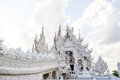 Wat rong khun chiang rai thailnad Royalty Free Stock Photo