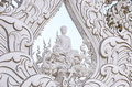 Wat rong khun temple or chiangrai thailand Royalty Free Stock Photo