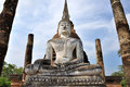 Wat sa si sukhothai historical park which covers ruins old city sukhothai thailand park was declared unesco world heritage site Stock Image