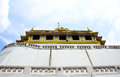 Wat saket, Golden mount Temple Royalty Free Stock Photos