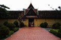 Wat saket laos or temple in vientiane Royalty Free Stock Photo