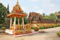 Wat Si Saket, Vientiane Stock Photo