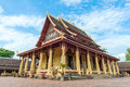 Wat Si Saket, Vientiane, Laos, Southeast Asia Royalty Free Stock Photo