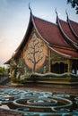 Wat Sirindhorn Wararam Phu Prao temple in Ubon Ratchathani, thai