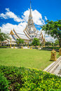 Wat sothon wararam worawihan royal monastery at chachoengsao province in thailand Royalty Free Stock Images