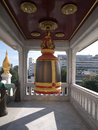 Wat triamit temple in bangkok Royalty Free Stock Photos